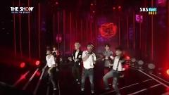 Video War Of Hormone (141104 The Show) - BTS (Bangtan Boys)