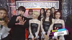 Interview (141121 Music Bank) - Kyu Hyun  ft.  AOA