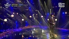 At Gwanghwamun (141120 M! Countdown) - Kyu Hyun