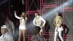 Video Crush & Come Back Home (2014 SBS Gayo Daejun) - 2NE1