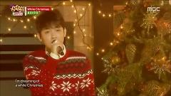 White Christmas (141220 Music Core) - Hyorin  ft.  Joo Young