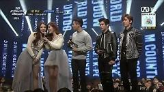 Interview (150205 M! Countdown) - Davichi , Infinite H