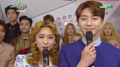 Backstage Interview (150403 Music Bank) - FT Island  ft.  Red Velvet