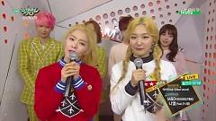 Backstage Interview (150417 Music Bank) - Red Velvet  ft.  M&D  ft.  Niel  ft.  JUNIEL