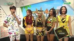Interview (150710 Music Bank) - SISTAR