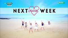 Comeback Next Week (150710 Music Bank) - Apink  ft.  Infinite