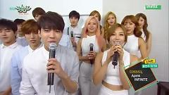 Interview (150717 Music Bank) - Infinite  ft.  Apink