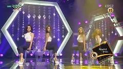 Rewind (150807 KBS Music Bank) - Wonder Girls