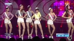 Video So Crazy (150823 Inkigayo) - T-ARA