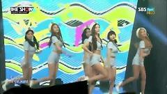 Video So Crazy (150825 The Show) - T-ARA