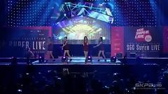Tell Me + Nobody (150906 Sgc Super Live) - Wonder Girls