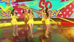Video So Crazy (150822 Music Core) - T-ARA