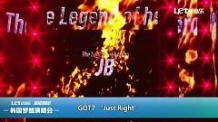 Video Just Right + Stop Stop It (Hallyu Dream Festival 2015) - GOT7