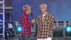 Video What Do You Mean? (Live At The Ellen Show) - Justin Bieber