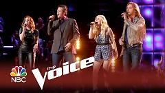 Video Sad Songs (Live At The Voice 2014) - Blake Shelton , Craig Wayne Boyd , Jessie Pitts , Reagan James
