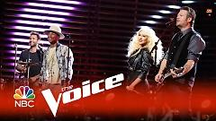 Are You Gonna Go My Way (The Voice 2015) - Adam Levine  ft.  Pharrell Williams  ft.  Christina Aguilera  ft.  Blake Shelton