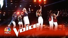 Rocket Man/Saturday Night's Alright (for Fighting) (The Voice 2015) - Joshua Davis  ft.  Koryn Hawthorne  ft.  Hannah Kirby  ft.  Kimberly Nichole  ft.  Sawyer Fredericks  ft.  Rob Taylor  ft.  Meghan Linsey  ft.  Deanna Johnson  ft.  Lê Minh
