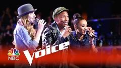 I Don't Want To Be (The Voice 2015) - Pharrell Williams  ft.  Koryn Hawthorne  ft.  Sawyer Fredericks