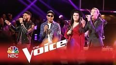 Just A Cloud Away (The Voice 2015) - Pharrell Williams  ft.  Evan McKeel  ft.  Madi Davis  ft.  Mark Hood