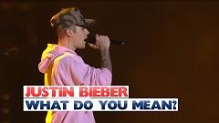 What Do You Mean? (Live At The Jingle Bell Ball 2015) - Justin Bieber