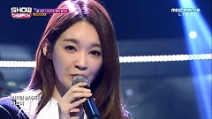 Beside Me (161019 Show Champion) - Davichi