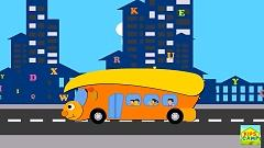 Video The Wheels on the Bus Go Round and Round (Nursery Rhyme) - KidsCamp