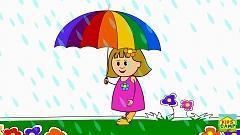 Video Rain, Rain, Go Away (Nursery Rhymes) - KidsCamp