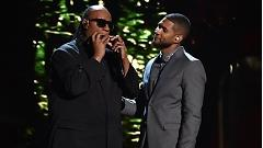 If It's Magic (Live At Grammy 57th) - Usher  ft.  Stevie Wonder