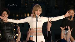 Video Welcome To New York (Live At 1989 Secret Session iHeartRadio) - Taylor Swift