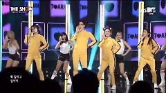 Video Little Apple (Live At THE SHOW Comeback Stage 141125) - T-ARA
