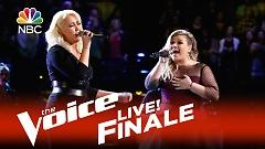 Invincible (The Voice 2015:Live Finale) - Meghan Linsey  ft.  Kelly Clarkson