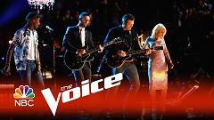 The Thrill Is Gone (The Voice 2015) - Blake Shelton  ft.  Adam Levine  ft.  Pharrell Williams  ft.  Christina Aguilera