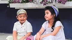 Video Cún Con Và Mèo Mi - Bé Trang Thư , Bé Nguyên Khang