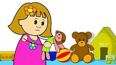 Miss Polly Had A Dolly (Nursery Rhyme) - KidsCamp