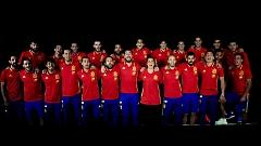 Video La Roja Baila (Himno Oficial De La Selección Española) - Sergio Ramos , Niña Pastori , RedOne