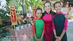 Mùa Xuân Hạnh Phúc (Behind The Scenes) - Phi Nhung  ft.  Bé Thu Hiền  ft.  Bé Thiên Ngân