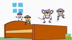 Video Five Little Monkeys Song - KidsCamp