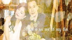 Đi Về Phía Thinh Lặng (Lyric Video) - Quang Dũng  ft.  Thanh Thảo