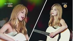 Comeback Next Week (150814 Music Bank) - JUNIEL