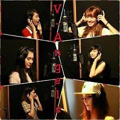Lời bài hát được thể hiện bởi ca sĩ V-Angels