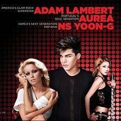 H-Artistry 2013 - Adam Lambert ft. NS Yoon Ji ft. Aurea