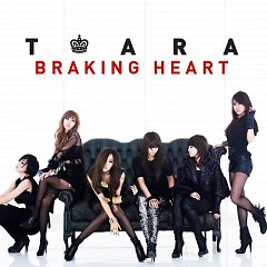 Album Braking Heart (Repackage) - T-ARA