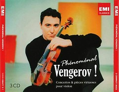 Phenomenal Vengerov - Concertos & Pieces Virtuosos Pour Violon CD 1 - Maxim Vengerov ft. Ian Brown ft. London Symphony Orchestra
