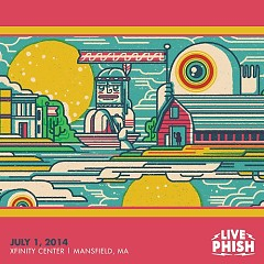 2014-07-01 Xfinity Center, Mansfield, MA (CD2) - Phish
