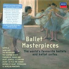 Album Ballet Masterpieces CD34 - Various Artists