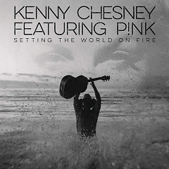 Setting The World On Fire (Single) - Kenny Chesney,Pink