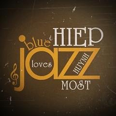 HIHU LOVES BLUE JAZZ MOST -