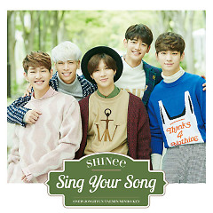 Sing Your Song (Japanese) - SHINee