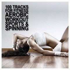 100 Tracks For Fitness Aerobic Workout Sports & Spinning CD4 - Various Artists