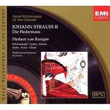Johann Strauss II:Die Fledermaus CD2 No. 2 - Herbert von Karajan